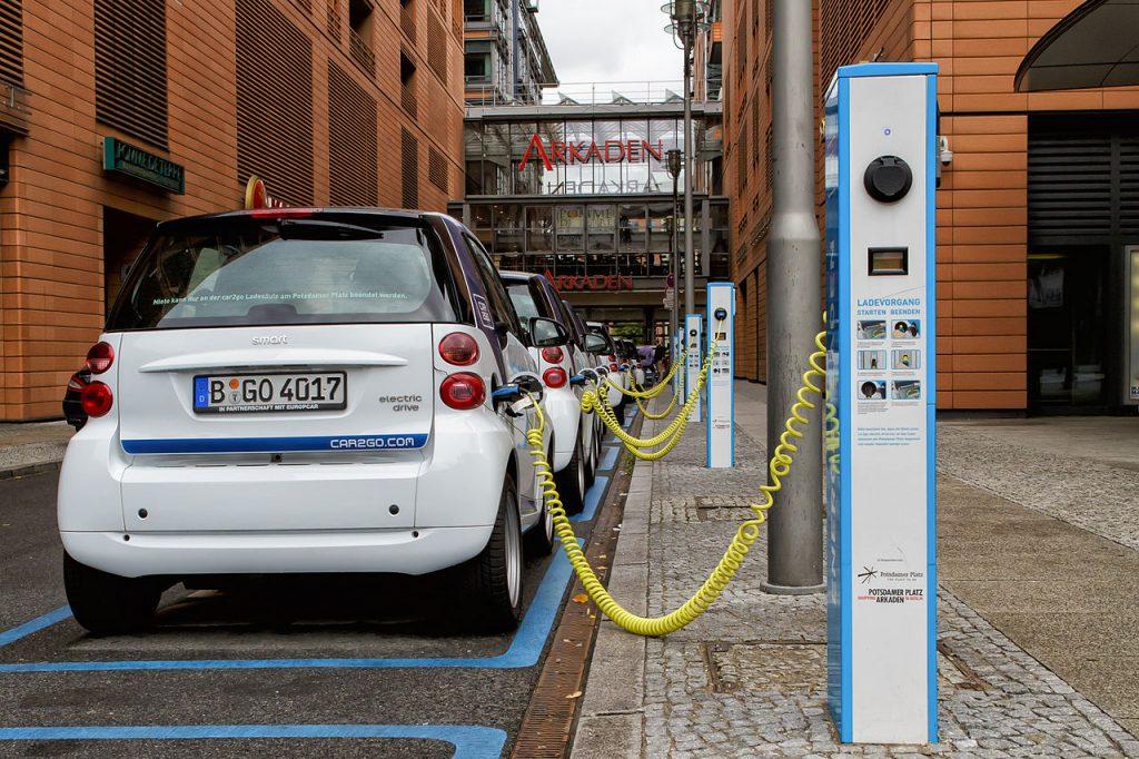 Punkty ładowania samochodów elektrycznych